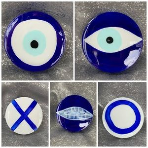 4 Nazar Evil Eye Protection Ceramic 🧿
